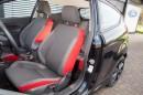 Die Sportsitze des Ford Fiesta Sport geben guten Seitenhalt