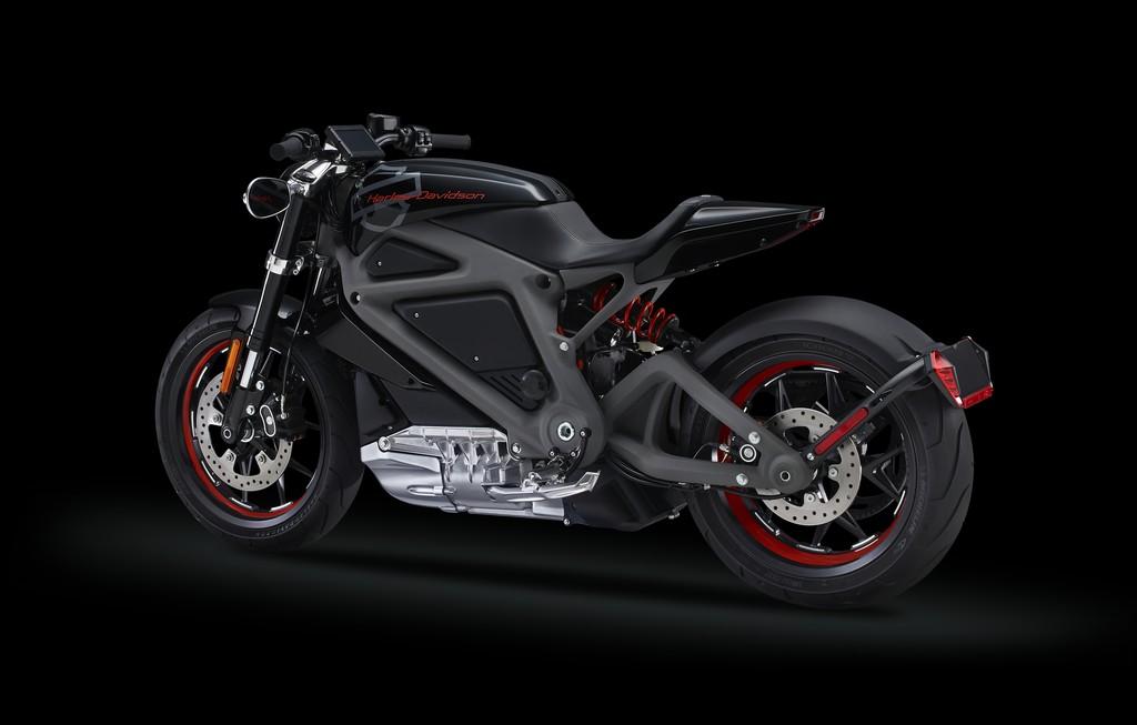 Das Harley-Davidson Project LiveWire mit Elektroantrieb