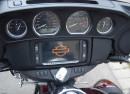 Das Cockpit der Harley-Davidson Tri Glide Ultra