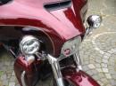 Die Scheinwerfer der Harley-Davidson Tri Glide Ultra