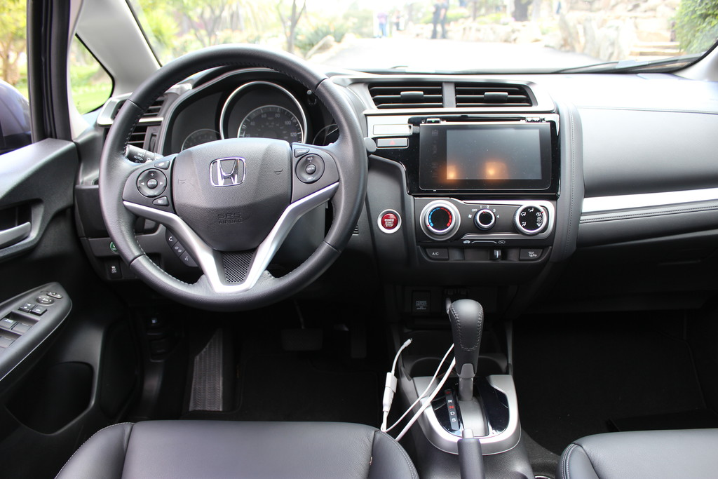 galerie honda jazz 3 generation cockpit bilder und fotos. Black Bedroom Furniture Sets. Home Design Ideas