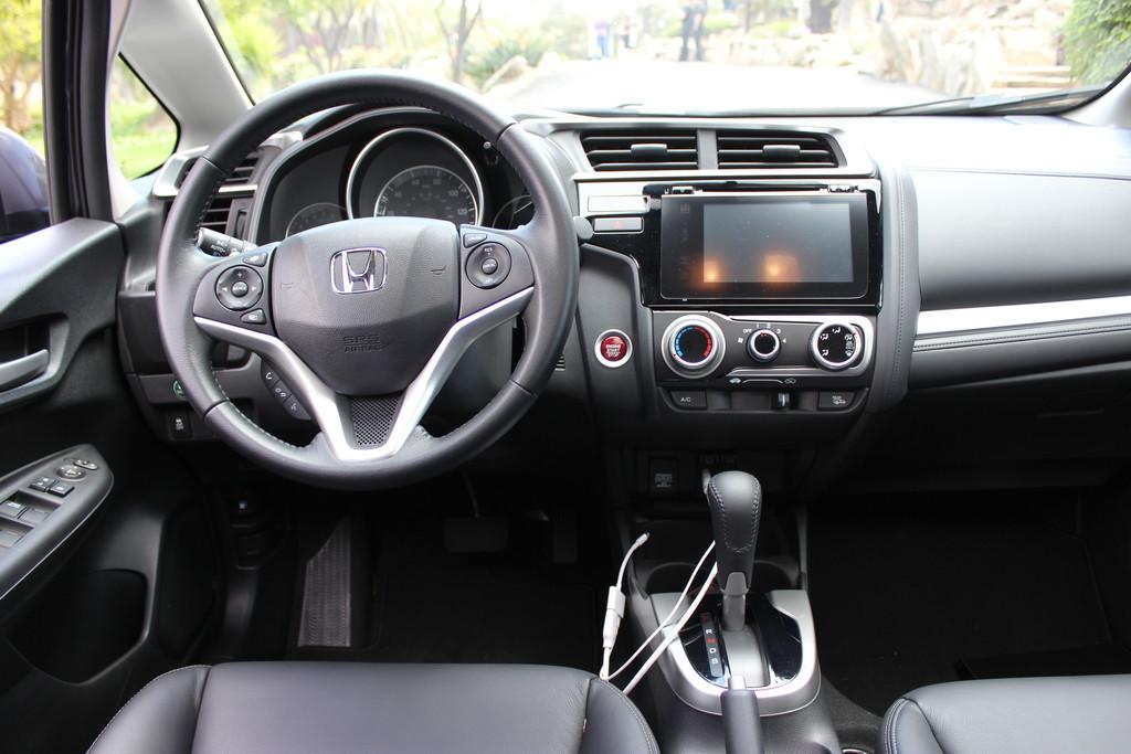 Fotos vom Innenraum des neuen Honda Jazz