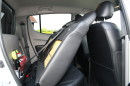 Die Sitze im Fond des Mitsubishi L 200 2,5 DI-D Intense Doppelkabine lassen sich umklappen