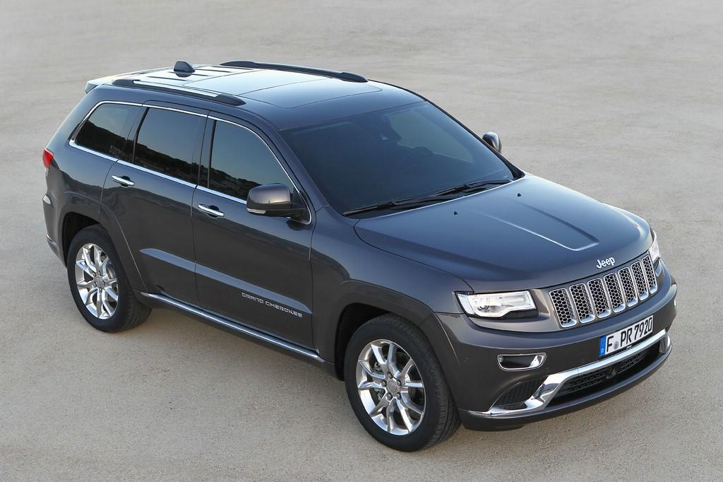 2014er Jeep Grand Cherokee in schwarz