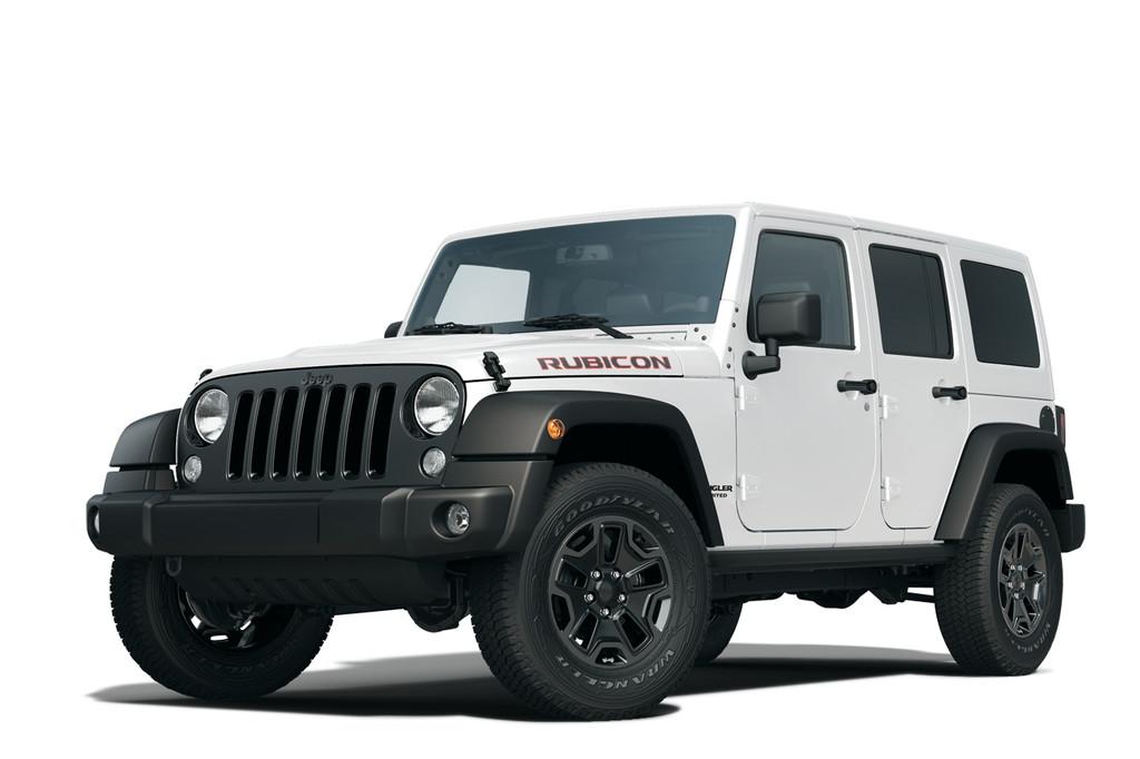 2014er Jeep Wrangler Sondermodell Rubicon X