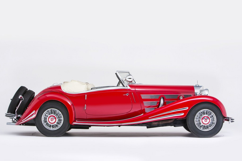 der Mercedes 500 K Spezial Roadster in 540 K-Optik