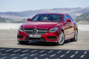 Mercedes-Benz CLS 2015 Limousine in rot