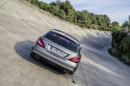 Die Heckleuchten des Mercedes-Benz CLS Shooting Brake sind nun abgedunkelt