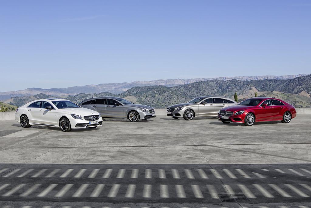 Mercedes-Benz CLS als Limousine und Kombi Shooting Brake