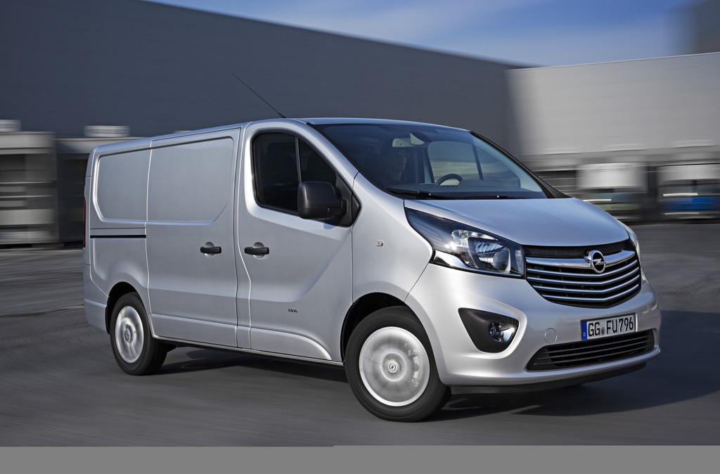 Der neue Opel Vivaro (2014) in silber
