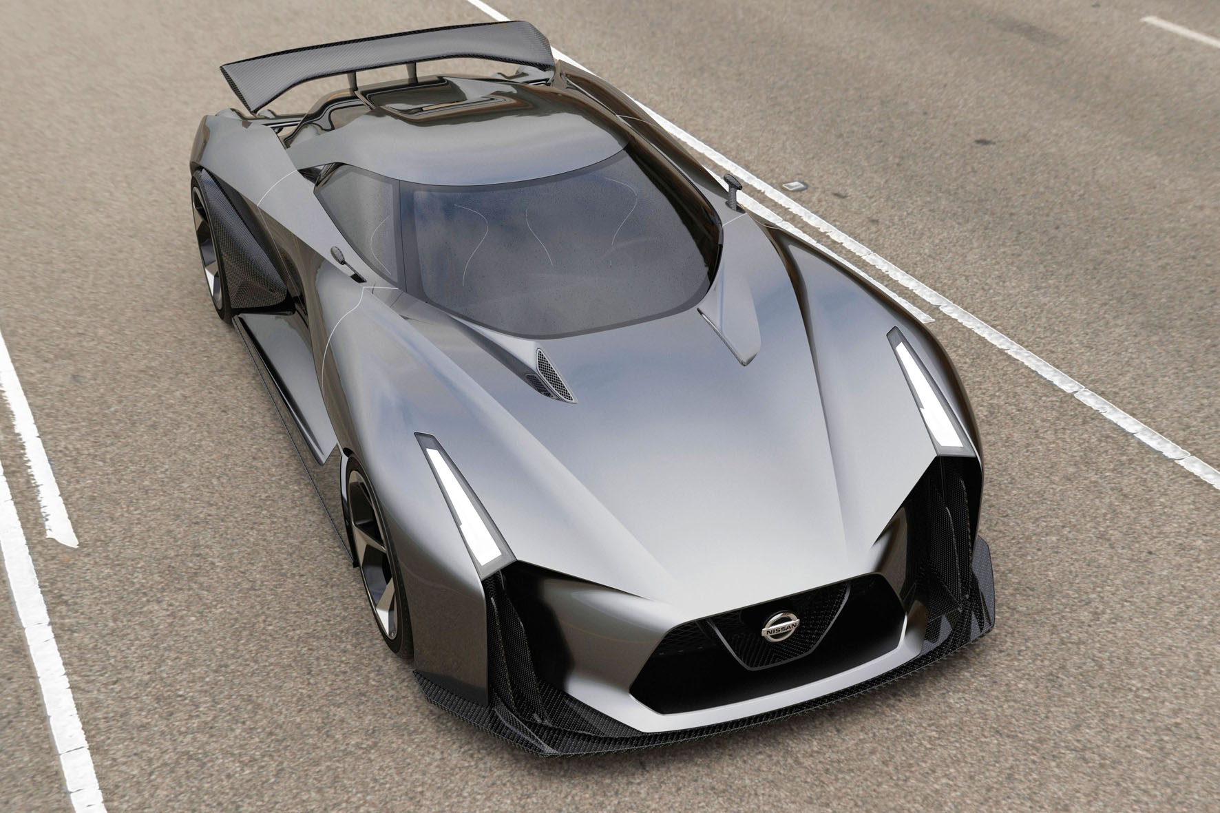 Nissan Concept 2020 Vision Gran Turismo für das Spiel Gran Turismo