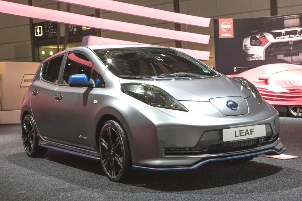 Tuning: Nissan Leaf Nismo auf der AMI 2014 in Leipzig