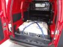 Die Platzverhältnisse im Nissan e-NV200 Kastenwagen