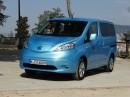Der Nissan e-NV200 Tekna-Van hat ein reiner Elektroantrieb