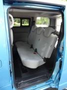 Die Rücksitzbank im Van Nissan e-NV200 Tekna-Van