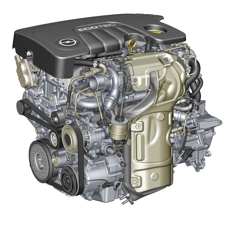 Der 1.6 CDTI Dieselmotor von Opel