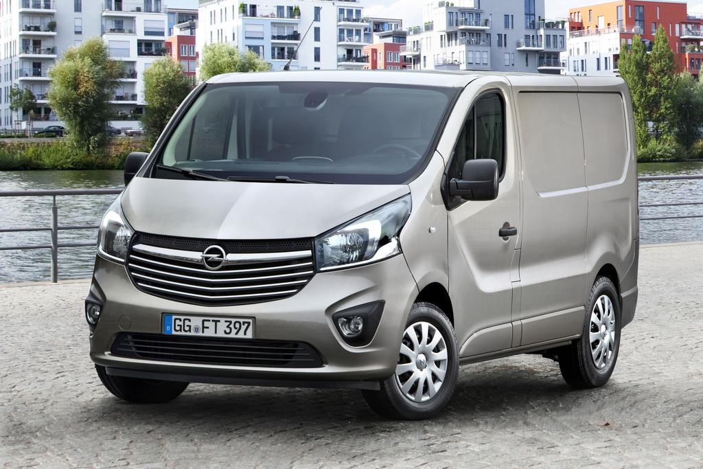 Als Kastenwagen ist der neue Opel Vivaro für unter 24.000 Euro zu haben