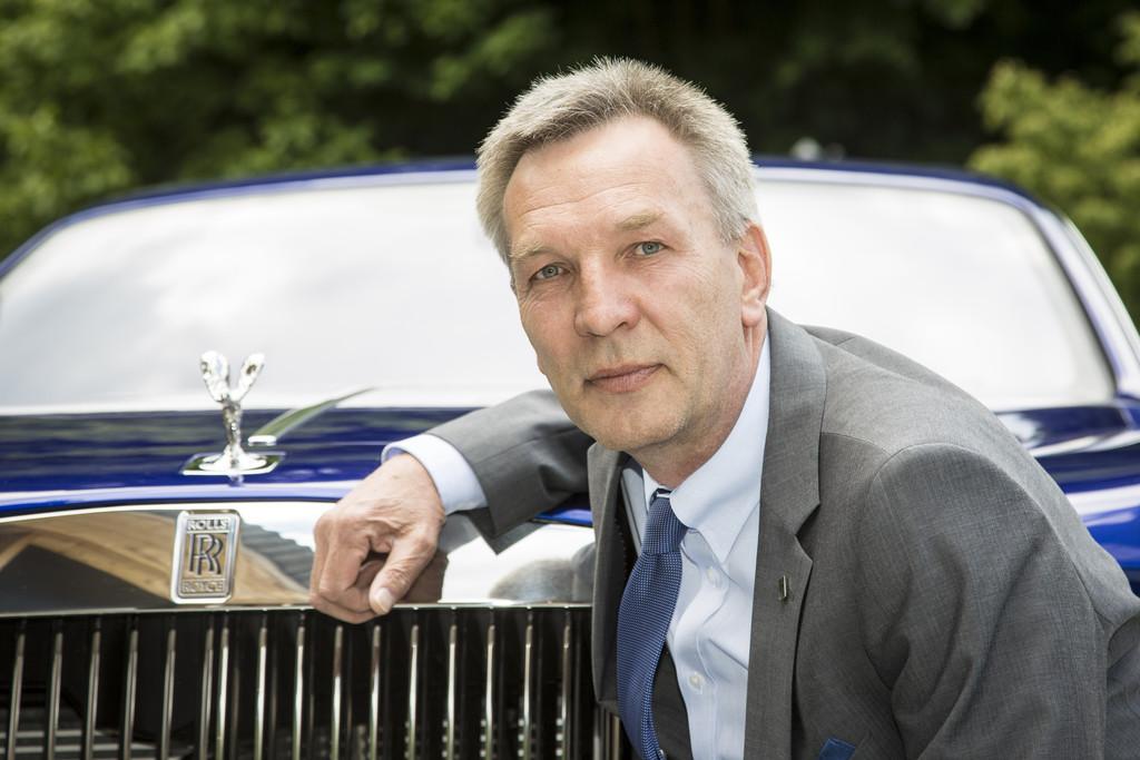 Peter P. Schoppmann ist Rolls-Royce-Regionaldirektor