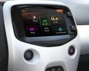 7-Zoll-Touchscreen-Display im neuen Kleinstwagen Peugeot 108