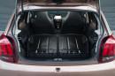 Der Peugeot 108 bietet 196 Liter Kofferraumvolumen