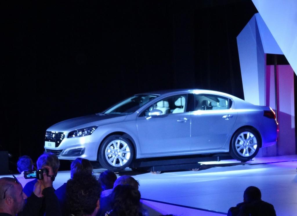 Peugeot 508 bei der Vorstellung in London