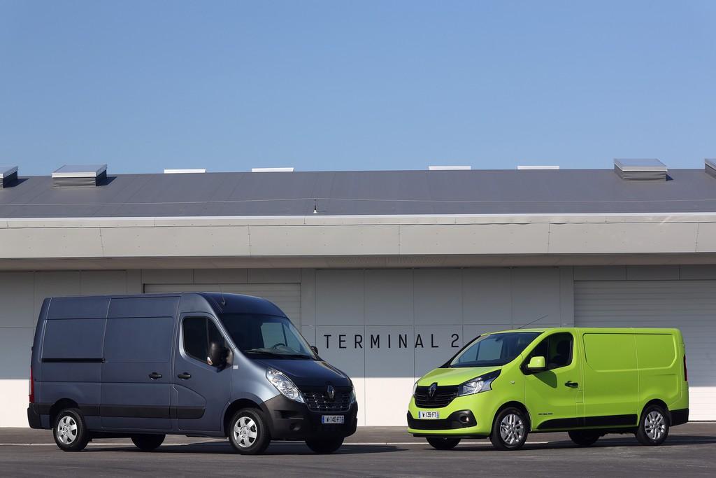 Fotovergleich Renault Master und Trafic 2014