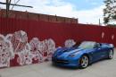 Das getestete Fahrzeug Chevrolet Corvette Stingray Convertible