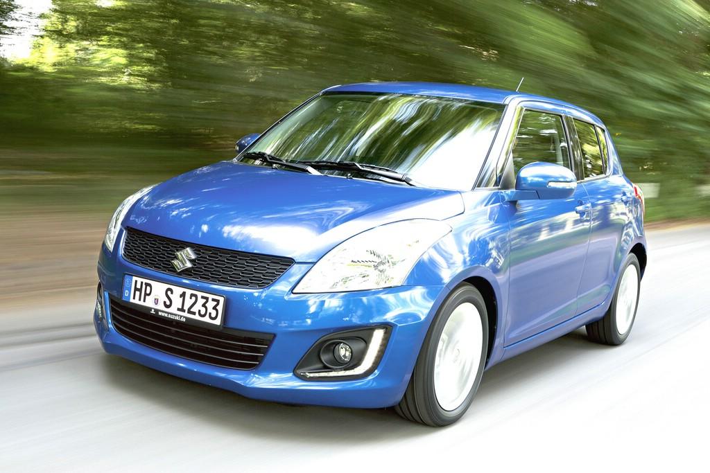 Suzuki Swift mit dem 1,2-Liter-DualJet-Motor mit 66 kW/90 PS