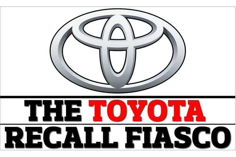 Toyota Rückruf Logo