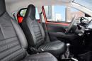 Toyota Aygo 2014 mit schwarzen Ledersitzen