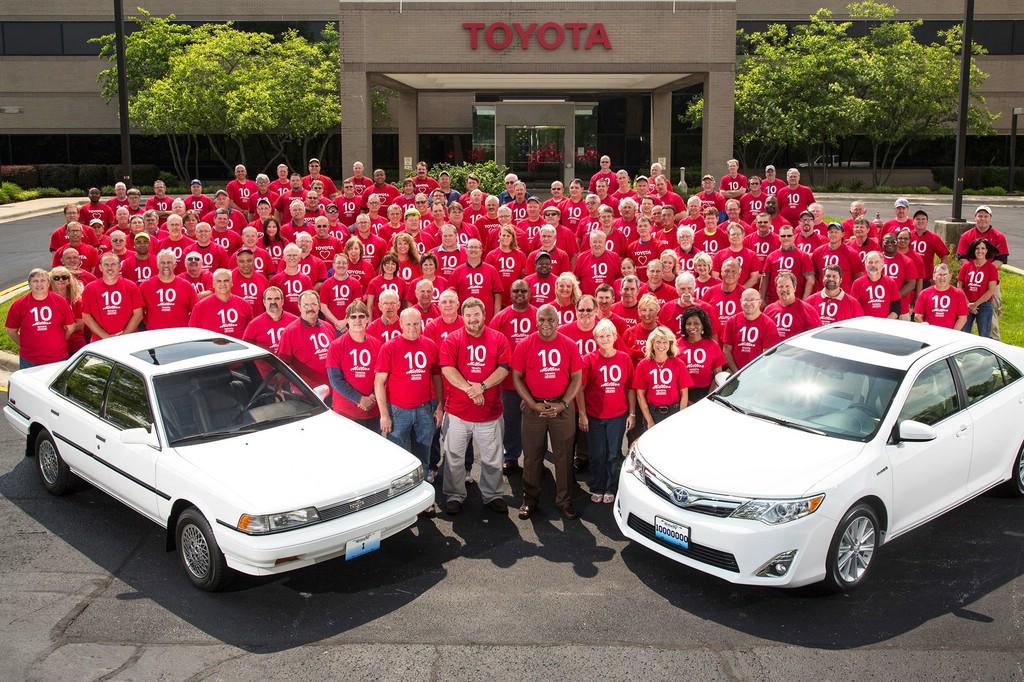 10 Millionster Toyota Camry und Avalon aus Kentucky