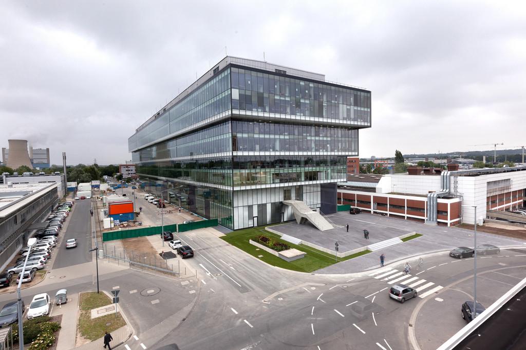 Kompetenzzentrum der Elektrik- und Elektronikentwicklung im Volkswagen-Stammwerk in Wolfsburg.