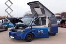 Geschwindigkeitsrekord: Der VW Spacecamper TH5 brachte es in Nardo mit seinen 580 PS auf unglaubliche 270,9 km/h.