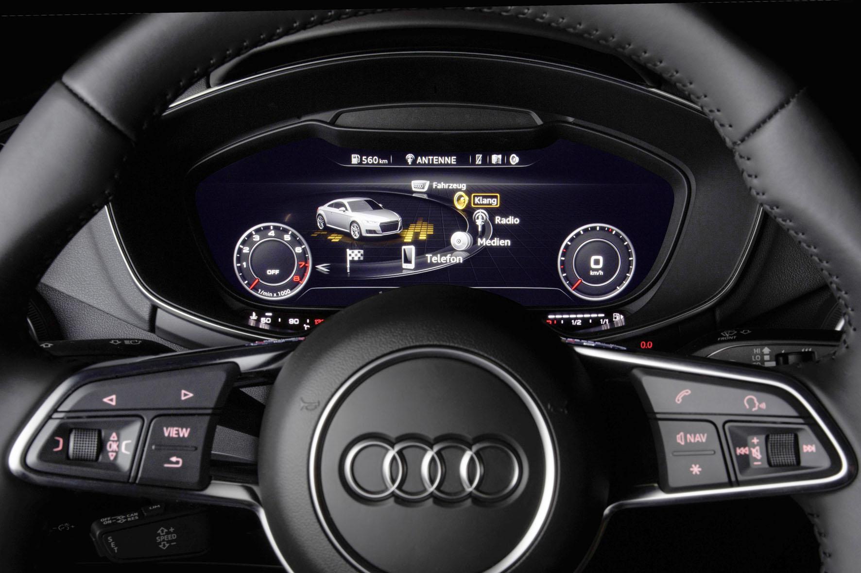 Bang & Olufsen Sound System mi Symphoria im Audi TT