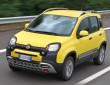 Der Fiat Panda Cross ist nur 3,70 Meter lang, hier in gelb