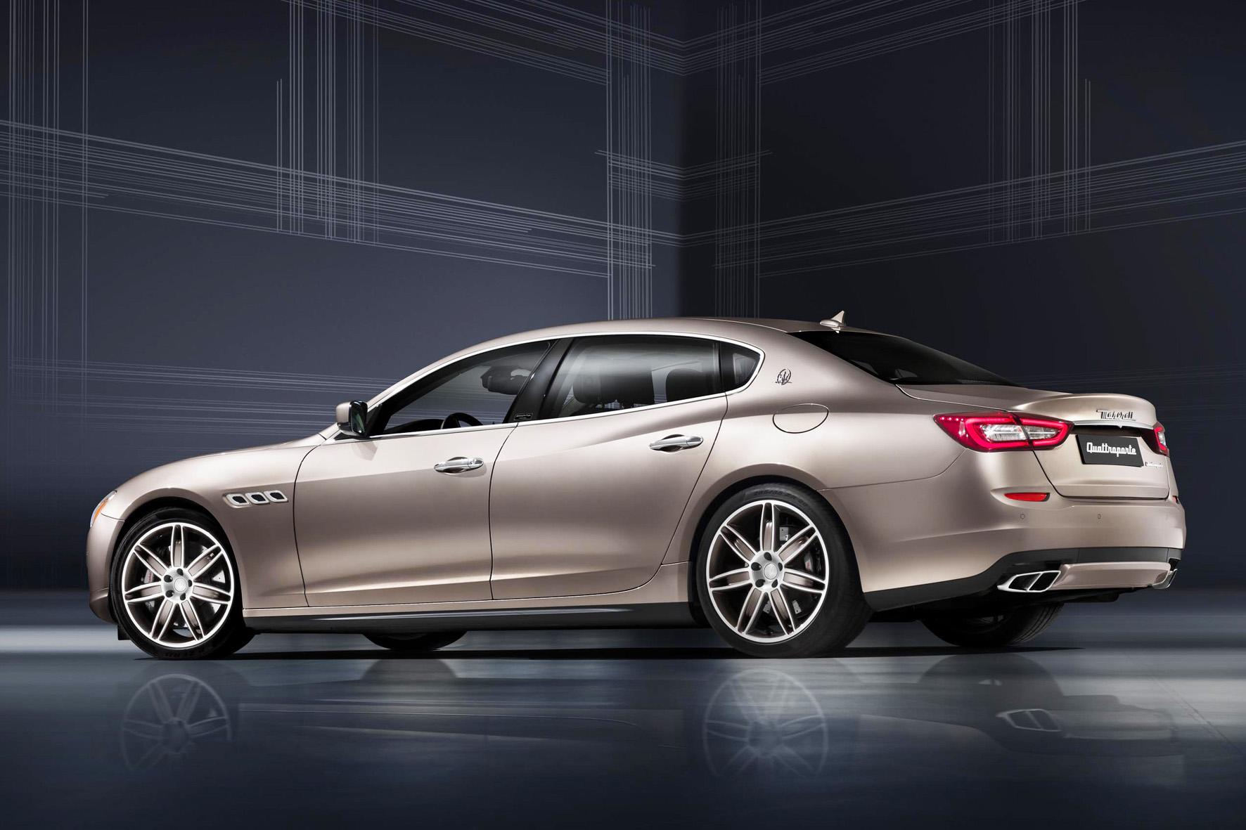 100 Maserati Quattroporte wird es als Sonderserie Zegna geben