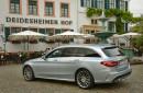 Das Mercedes-Benz C 250 T-Modell ist nun fast 10 cm länger