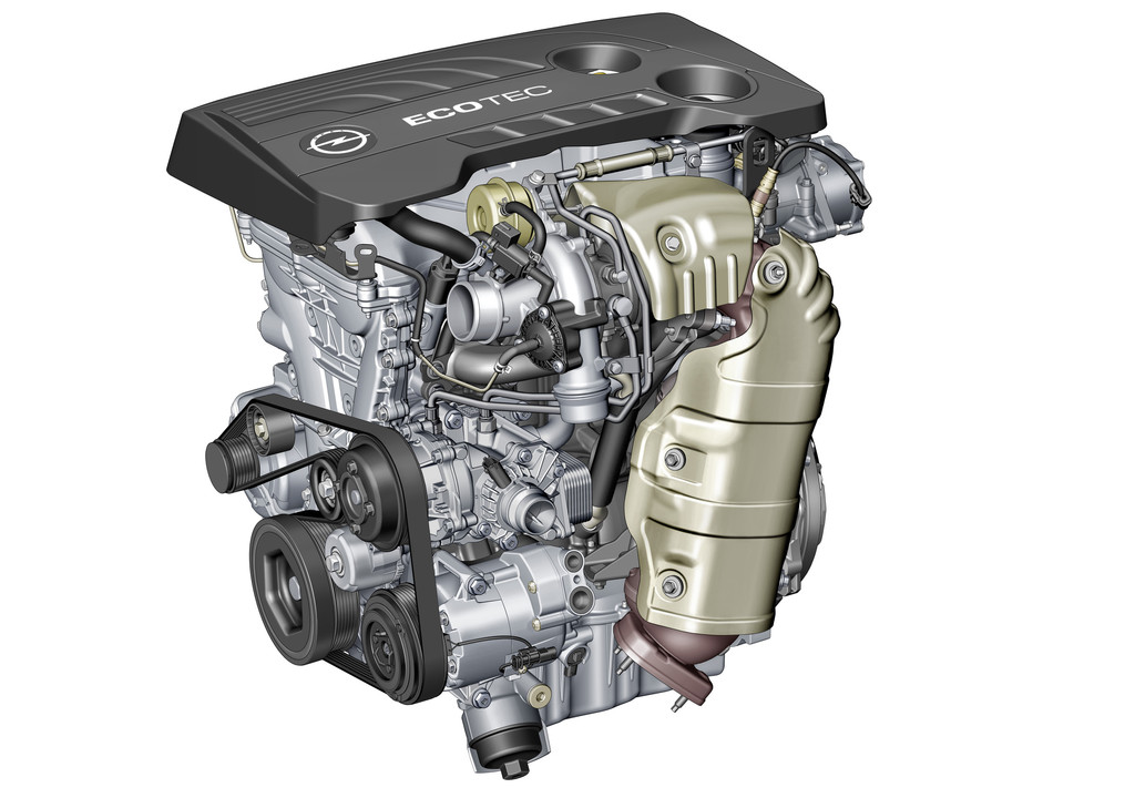 Benzinmotor Opel 1.6 Ecotec Direct Injection Turbo