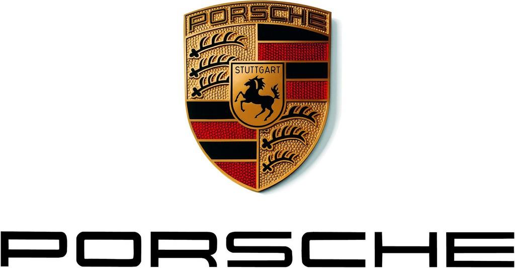 Das Logo des Autoherstellers Porsche