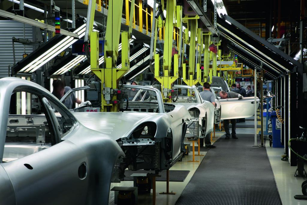 Die aktuelle Porsche-Produktion im Stammwerk Zuffenhausen