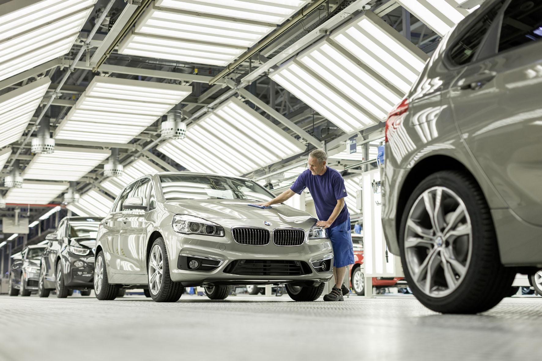 Die Produktion des BMW 2er Active Tourer (F45) im Werk Leipzig