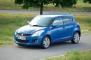 Suzuki Swift Comfort Eco plus in blau, Standaufnahme