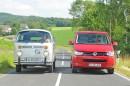 """Im Vergleich standen der VW """"Bulli"""" T2 und der Volkswagen California"""