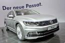 VW Passat als viertürige Stufenheck Limousine bei der Präsentation in Berlin