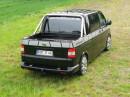 Der VW T5 Multifuncar 2 von Stockel in der Karosseriefarbe schwarz