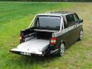 Der umgebaute Volkswagen T5 als Multifuncar 2 von Stockel