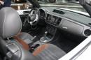 Innenraum des Volkswagen Beetle Cabriolet Sondermodell  Karmann