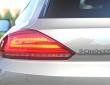 Die Rückleuchten des Volkswagen Scirocco mit LED-Technik