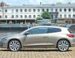 2014er Modell des Volkswagen Scirocco in der Seitenansicht