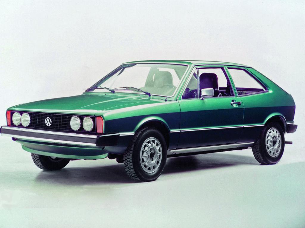 Der Volkswagen Scirocco I wurde zwischen 1974 und 1981 produziert